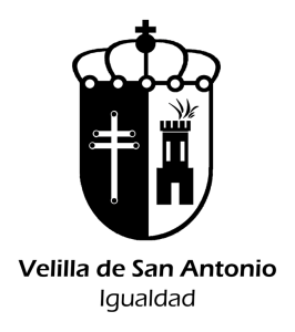 Escudo Igualdad transparente negro