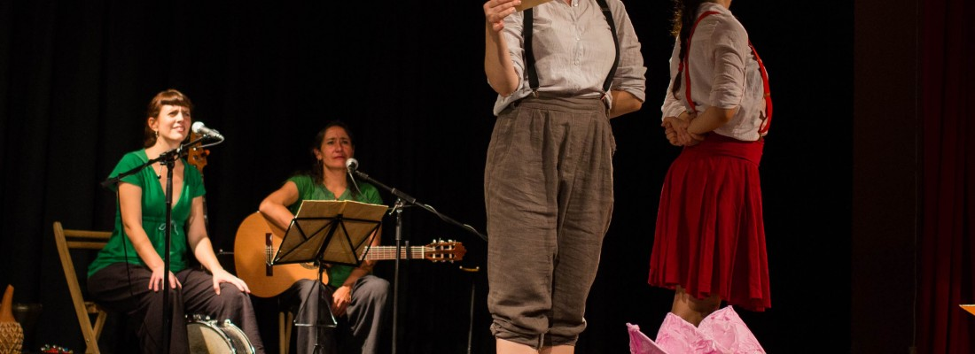 Teatro Gloria Fuertes Deambulantes Booooo Primaria Escolares Infantil Igualdad Lectura