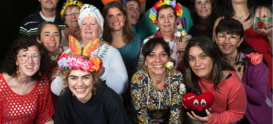 Fotografía prevención de violencia de género participación comunidad