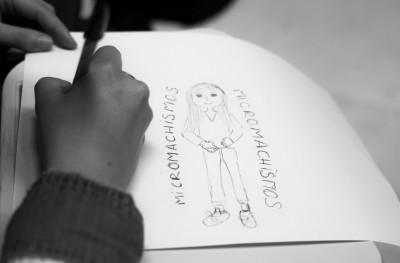 Creación fotográfica contra la Violencia de Género – Usera – 2016